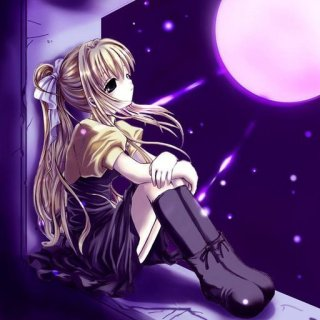 anime-girl-looking-at-the-moon-with-love